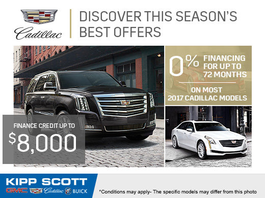 Cadillac's Monthly Sales Event