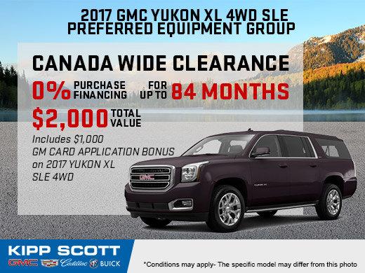 Finance the 2017 GMC Yukon XL Today!
