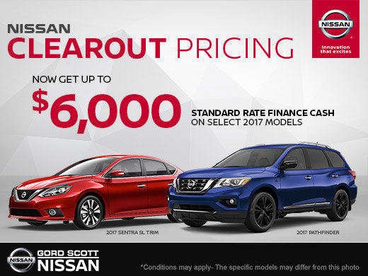 Nissan Clearout Pricing Event