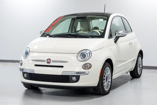 2015 Fiat 500 LOUNGE NOUVEAU EN INVENTAIRE