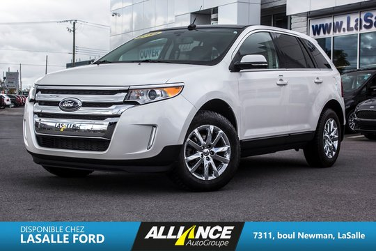 2014 Ford Edge Limited / AWD / CUIR/ TOIT/ NAV
