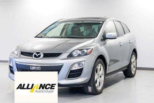 Mazda CX-7 GT CAMÉRA RECUL-TOIT OUVRANT-CUIR-GROUPE ÉLECTRIQU 2012