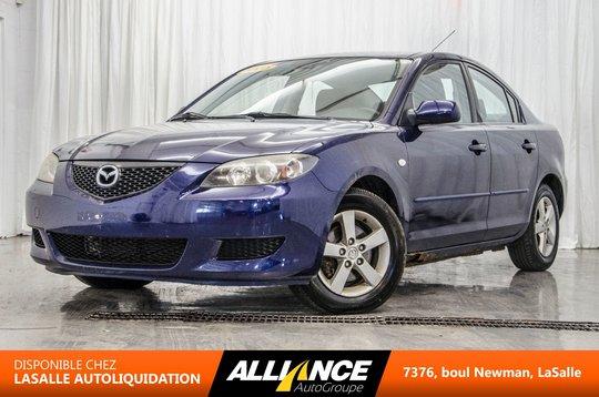 Mazda Mazda3 GROUPE ELECT I AIR I AUTOMATIQUE   2.0L   2005