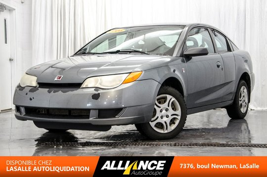 Saturn Ion Quad Coupe Midlevel 2005