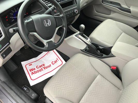 Honda Civic Sedan DX 2015 BAS KM (8/13)