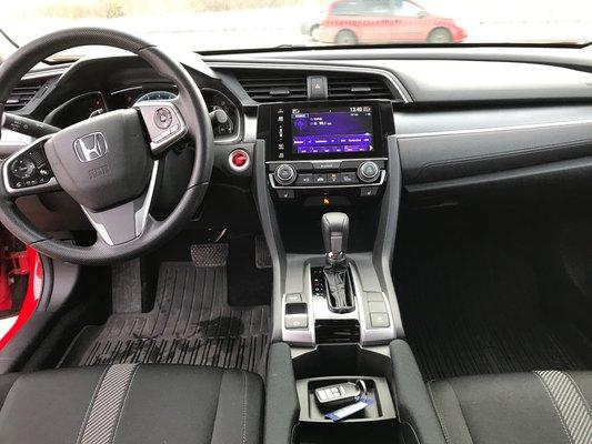 Honda Civic Sedan EX-HS 2017 BAS KM (11/15)