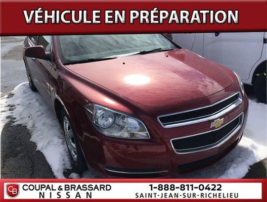 Chevrolet Malibu LTJAMAIS ACCIDENTÉ*JANTES ALLIAGES*1 PROPRIO* 2012