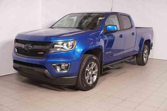2018 Colorado Zr2 Accessories >> New 2018 Chevrolet Colorado Z71 GD1 - Kinetic Blue Metallic - $45825.0 | 440 Chevrolet Laval #CA ...