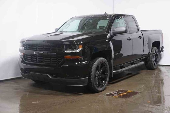 New Chevrolet Silverado 1500 Custom, Double Cab 2018 Noir ...