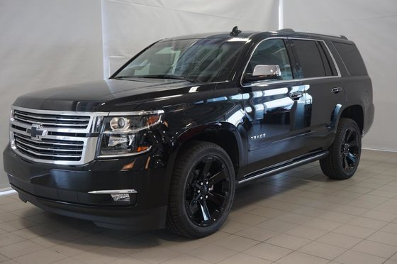 New 2017 Chevrolet Tahoe Premier Black 72745 0 440