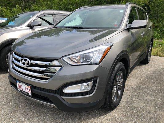 2014 Hyundai Santa Fe Sport Premium AWD 2.0T (1/16)