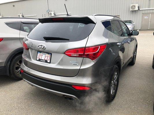 2015 Hyundai Santa Fe Sport Premium AWD (2/13)