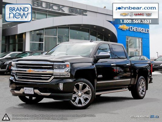 2017 Silverado High Country >> New 2017 Chevrolet Silverado 1500 High Country At John Bear