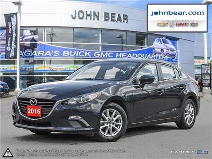 2016 Mazda Mazda3 GS BACK UP CAMERA, BLUETOOH CONNECTION
