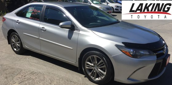 2015 Toyota Camry SE - Fuel Efficient and Sporty Style!