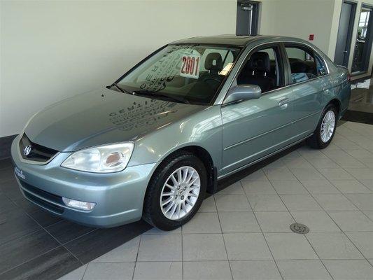Used Acura EL Premium Cuir Toit Etc At Acura Brossard - Acura el rims