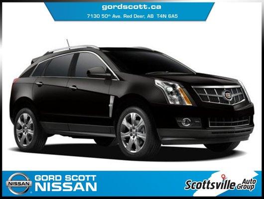 2010 Cadillac SRX 2.8T Premium, Leather, DVD, Sunroof, Loaded