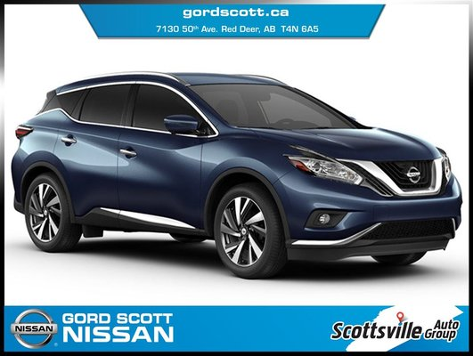 2017 Nissan Murano SL AWD, Leather, Nav, Smart Key, Bose Audio