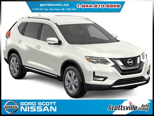 New 2018 Nissan Rogue SV AWD Moonroof Package for sale in Red Deer