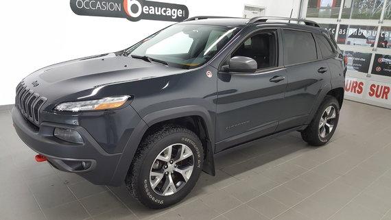 Jeep Cherokee 2016 Trailhawk V6,31153 km seulement navigation, cuir,