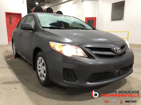 Toyota Corolla 2013 CE - SIÈGES CHAUFFANTS-BAS KILOMÉTRAGE - AUBAINE!