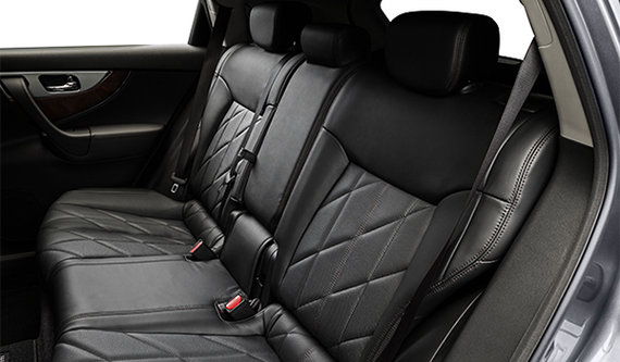 Graphite Quilted Leather