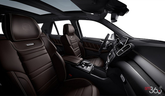 AMG Black/Espresso Brown Exclusive Leather