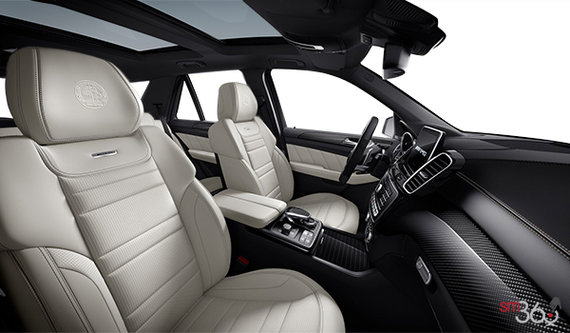 AMG Black/Porcelain Exclusive Nappa Leather