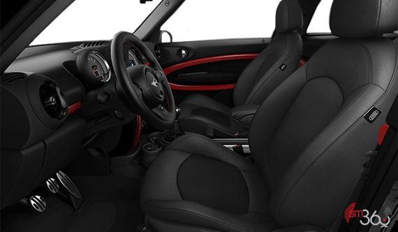Carbon Black Leatherette