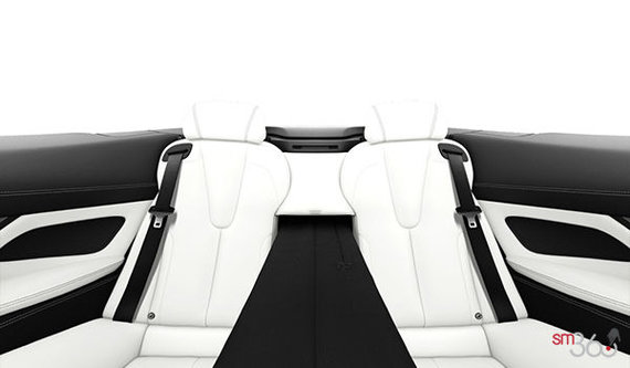 Opal White Full Merino Leather with Black Interior