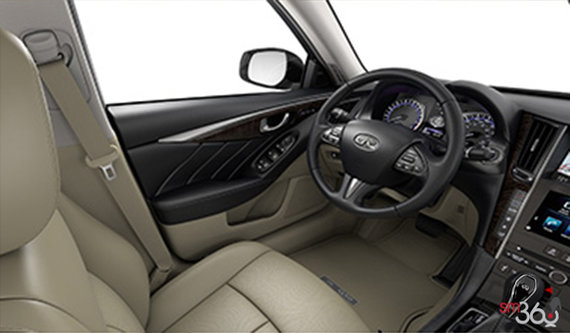 Wheat Leather with Maple Wood Trim