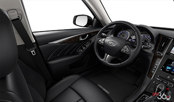 Graphite Leather with Maple Wood Trim
