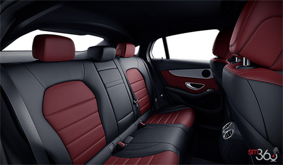 Cranberry/Black Sport ARTICO Leather