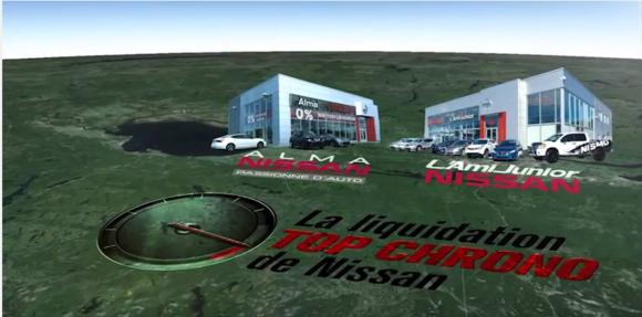 La liquidation top chrono Alma Nissan et L'ami Junior Nissan