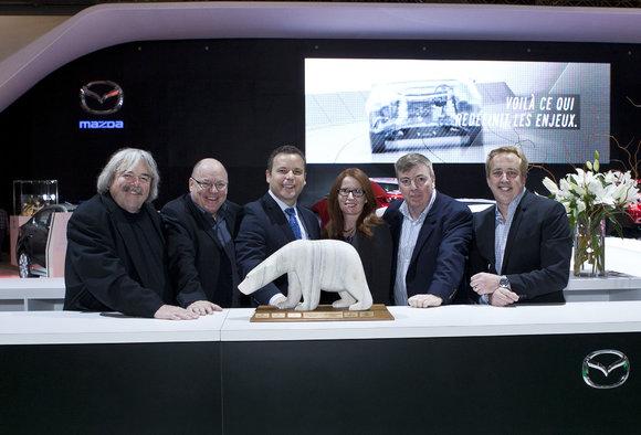 La Mazda3 se voit attribuer le Grand Prix du Jury Canadien de l'Automobile 2014