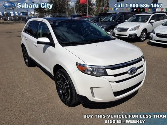 Ford Edge Sel Leather Sunroof Navigation
