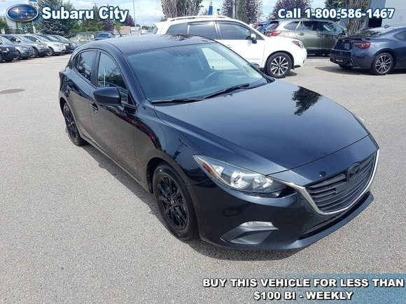 2016 Mazda Mazda3 GS,AIR,TILT,CRUISE,PW,PL,VERY CLEAN,ONE OWNER,CARPROOF IS CLEAN!!!!