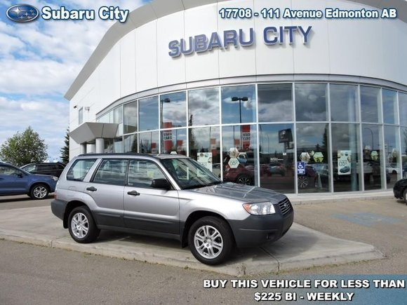 2008 Subaru Forester Anniversary Edition