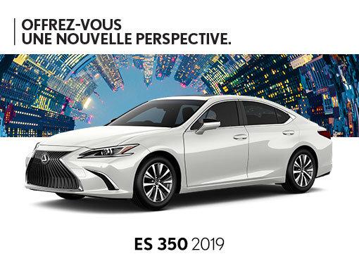 Promotion Lexus ES neuf à Montréal