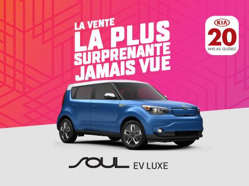 Kia Soul EV en promotion à Montréal