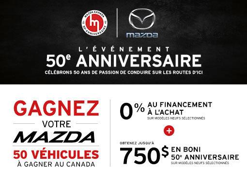 L'Événement 50e anniversaire de Mazda