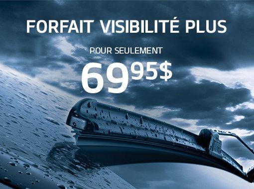 Forfait Visibilité PLUS pour seulement 69,95$