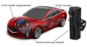 Mazda I-ELOOP system