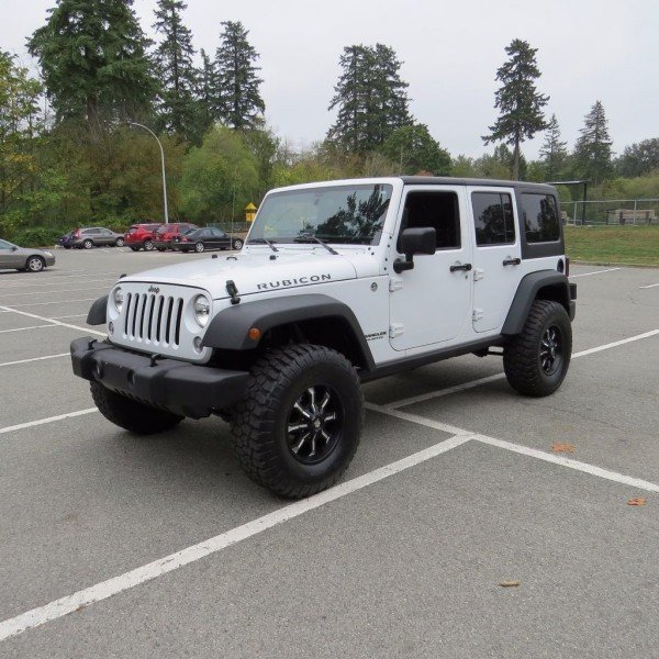 2015 Jeep Wrangler Unlimited Rubicon  -  A/C - $291.88 B/W