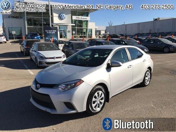 2015 Toyota Corolla CE  - Bluetooth - $101.57 B/W