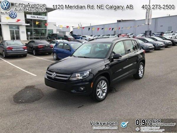 2017 Volkswagen Tiguan Wolfsburg Edition  - Certified - $173.32 B/W