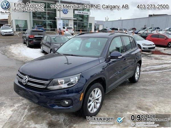 2017 Volkswagen Tiguan Wolfsburg Edition  - Certified - $196.96 B/W