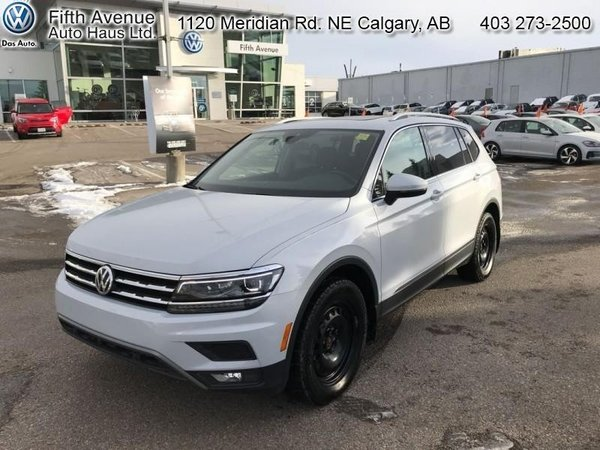 2018 Volkswagen Tiguan Highline 4MOTION  - Non-smoker - $240.08 B/W