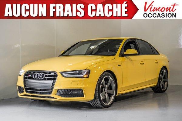 2015 Audi S4 2015+S4+CUIR+TOIT+NAV+CAMERA RECUL+MAGS