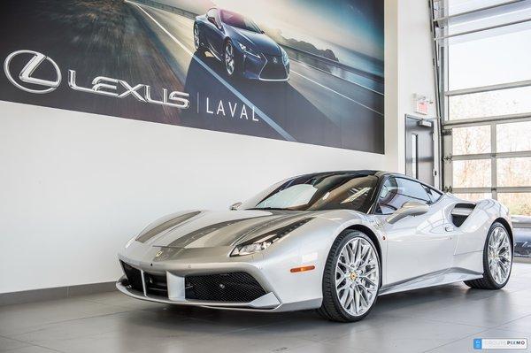 Ferrari GTB 488 Roues de 22 ¨/ Gar 3 ans Kms/illimité 2017